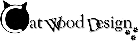 Cat Wood Design logo