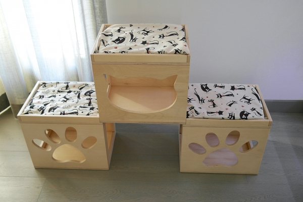 accessori per gatti in legno cat wood design
